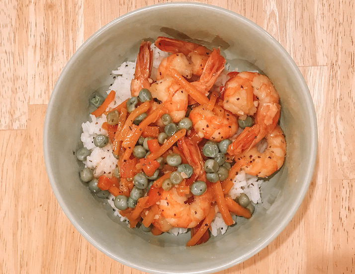 Garlic Shrimp Stir Fry (Soy Free)