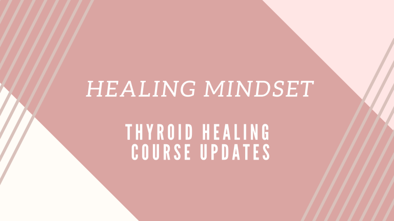 Healing Mindset (Course Lesson)