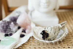 Clearing My Energy With Sage